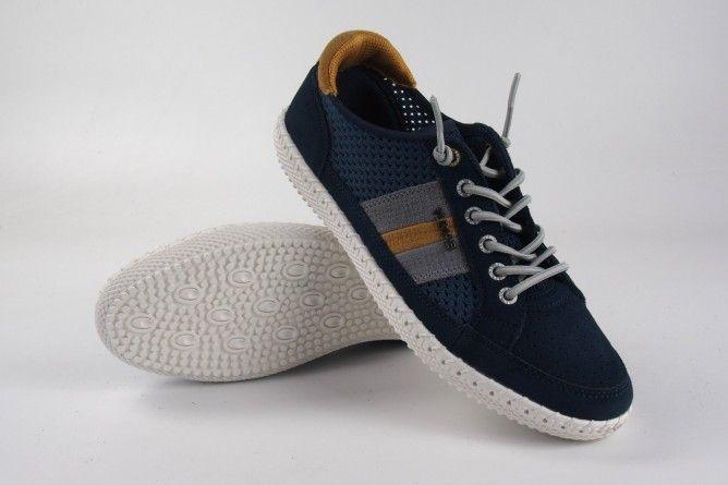 Zapato caballero YUMAS austria azul
