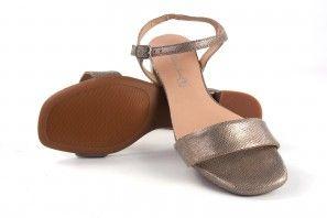 Sandale femme MARIA JAEN 584 or