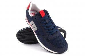 Zapato caballero MUSTANG 84086 azul