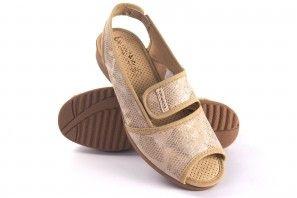 Dame pieds délicats VULCA BICHA 1173 beige