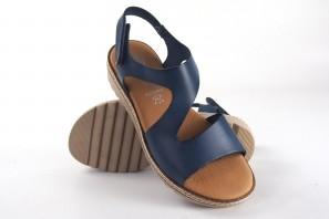Sandale femme CO & SO 1125 bleu