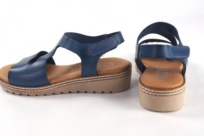 Sandalia señora CO & SO 1125 azul