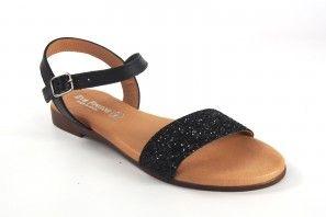 Sandalia señora EVA FRUTOS 9190 negro