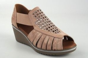Zapato señora RELAX4YOU 572 salmon