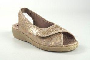 Zarte Füße Dame NELES 36809 Platin