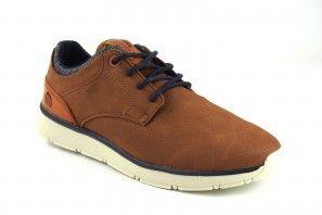Zapato caballero MUSTANG 84425 cuero