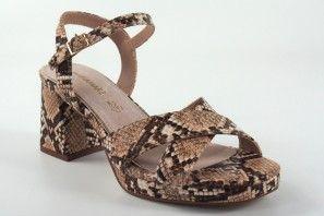 Sandalia señora MARIA MARE 67700 serpiente