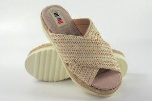 Sandale femme MUSTANG 58722 beig