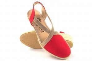 Zapato señora CALZAMUR 248 rojo