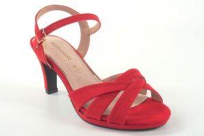 Sandalia señora MARIA MARE 67658 rojo