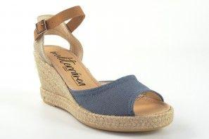 Sandalia señora CALZAMUR 267 azul