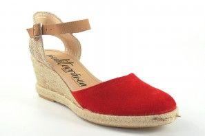 Zapato señora CALZAMUR 244 rojo