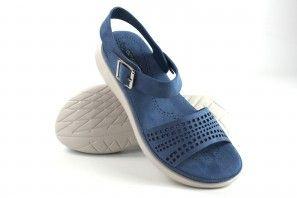 Sandalia señora AMARPIES 17013 abz azul
