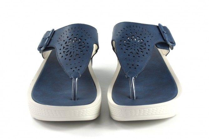 Sandalia señora AMARPIES 17000 abz azul