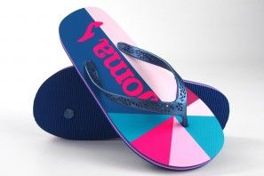Lady Beach JOMA surf 2003 bleu