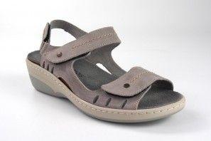 Sandalia señora INTER BIOS 3020 gris