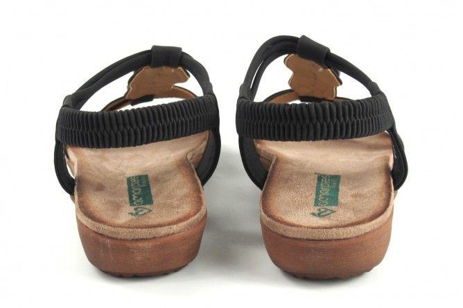 Sandalia señora AMARPIES 17064 abz negro