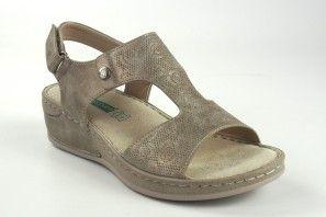 Sandalia señora AMARPIES 17008 abz platino