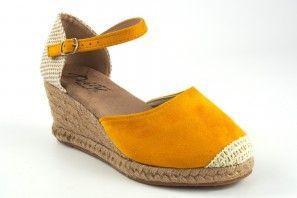 Zapato señora DEITY 17416 ycx mostaza