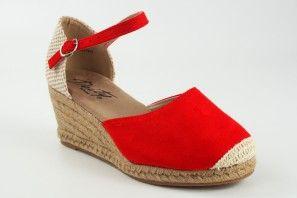 Zapato señora DEITY 17416 ycx rojo