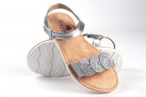 Sandalia niña KATINI 17804 kyx plata