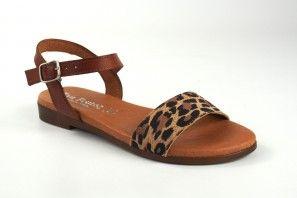 Sandalia señora EVA FRUTOS 9190 leopardo