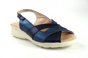 Zarte Füße Dame DUENDY 601 blau