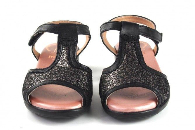 Pies delicados señora DUENDY 3093 negro