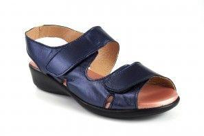 Zarte Füße Dame DUENDY 3035 blau