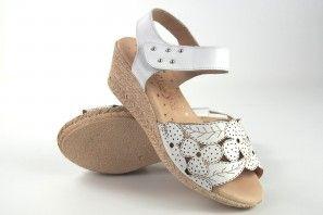 Sandale dame DUENDY 3024 blanc