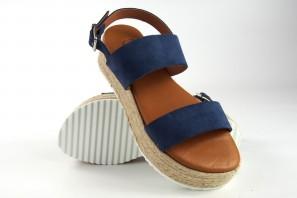 Sandale femme CO & SO 23021 bleu