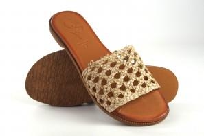 Sandale femme CO & SO 5020 beige