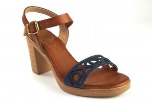 Sandale femme CO & SO h050 bleu
