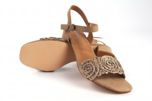 Sandale dame D'ANGELA 17647 dfe taupe