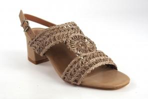 Sandale dame D'ANGELA 17646 dfe taupe