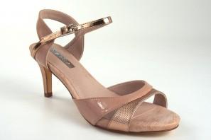 Sandale dame D'ANGELA 17565 dms saumon