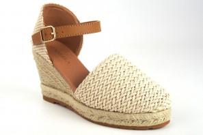 Zapato señora D'ANGELA 17571 dko beig
