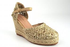 Zapato señora D'ANGELA 17570 dko beig