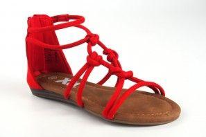 Sandale fille XTI KIDS 57108 rouge