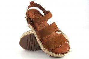 MUSE & CLOUD sandale femme carina cuir
