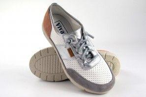 Zapato señora VIVANT 201145 bl.pla