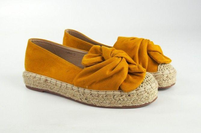 Zapato señora BEBY 19864 mostaza