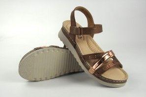 Sandalia señora XTI BASIC COMFORT 44915 bronce