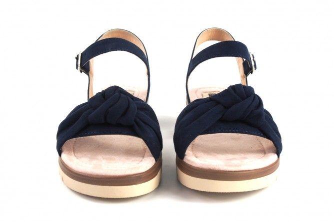 Sandalia señora MUSTANG 58693 azul