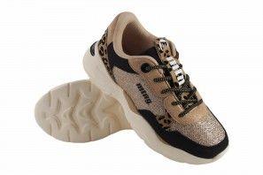 Zapato niña MUSTANG KIDS 48154 negr/oro