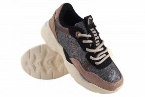 Chaussure fille MUSTANG KIDS 48154 ne.ros