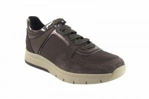 Zapato señora GEOX d049ga taupe