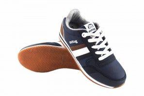 Chaussure garçon MUSTANG KIDS 48134 bleu