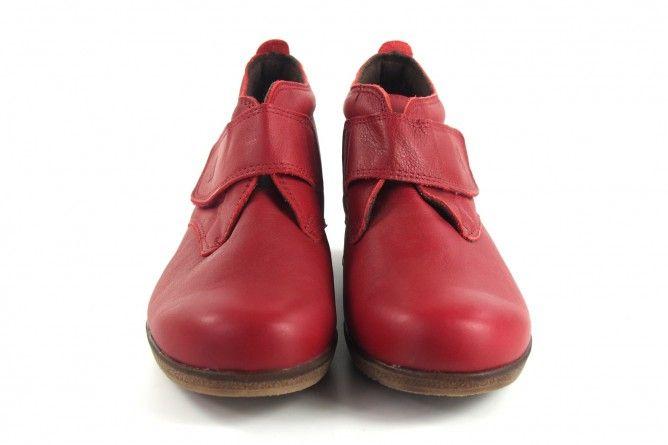 Botín señora BELLATRIX 7546 rojo