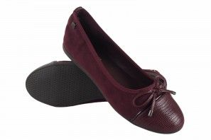 Zapato señora XTI BASIC 34416 burdeos